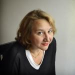 The French writer Elise Thiébaut. Paris 2017